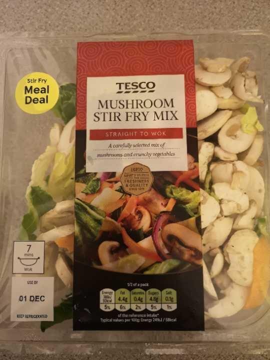 Mushroom stir fry mix