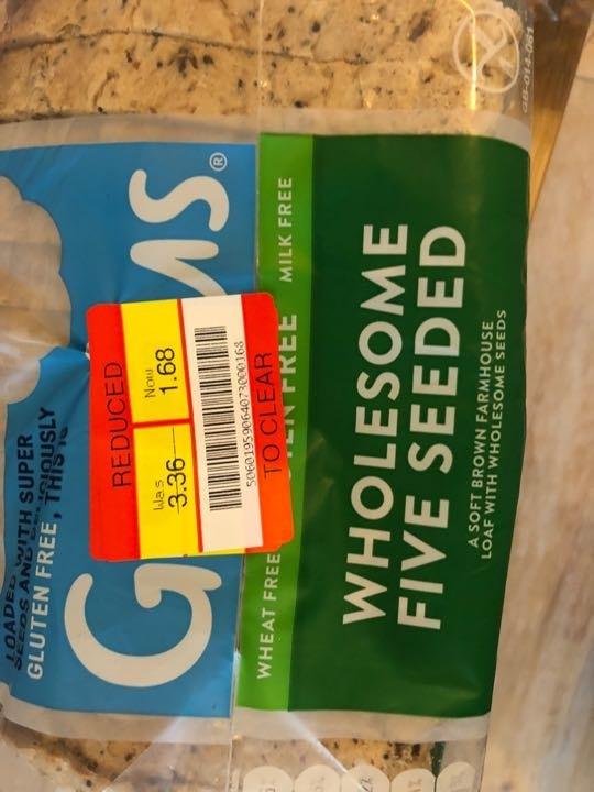 Genius gluten free seeded bread