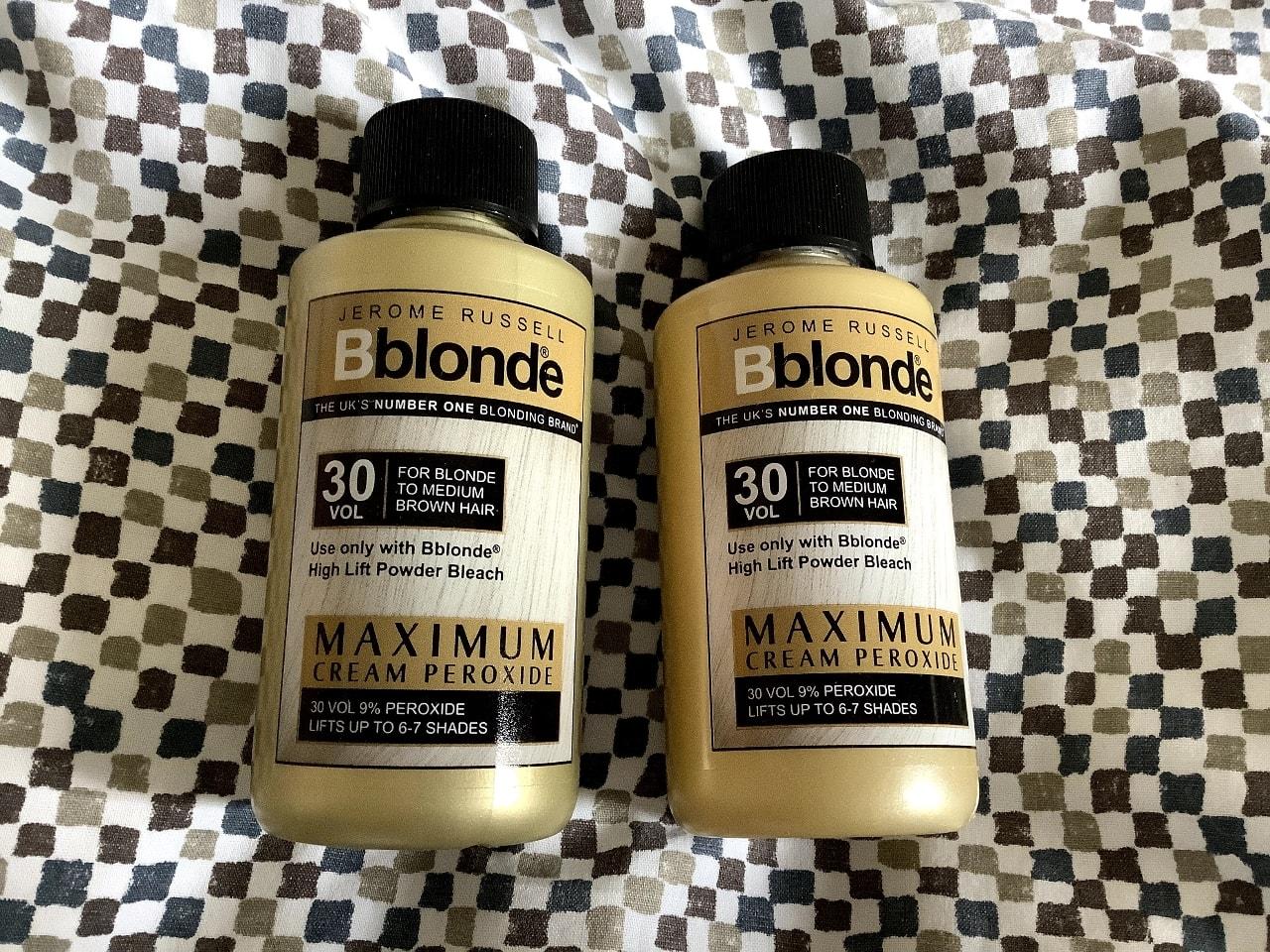 Jerome Russell Bblonde 30 vol peroxide cream