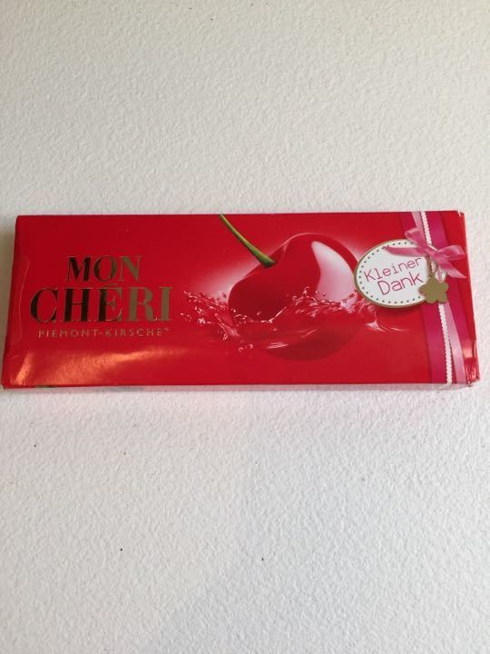 Box of 10 Mon Cheri chocolate cherries