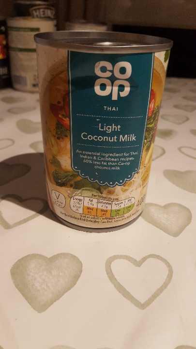 Light coconut milk