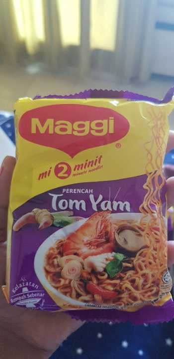 Maggie Tom Yam Instant Noodles.