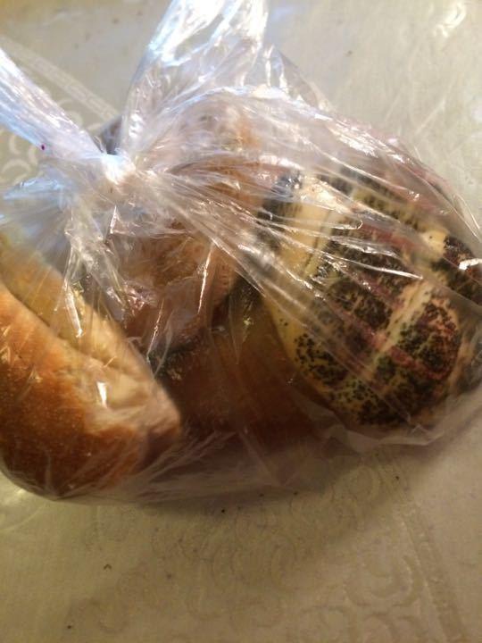 Bag of 4 buns