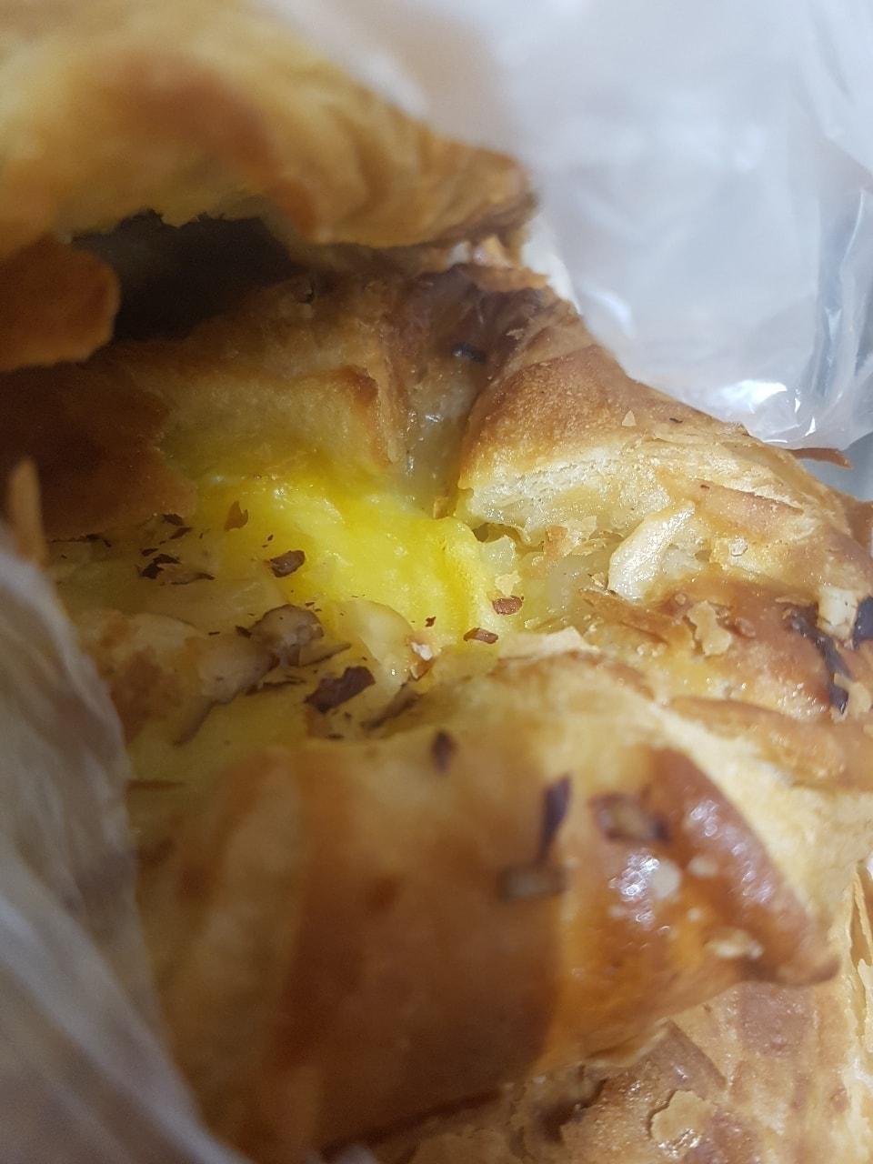 Various Tesco pastries