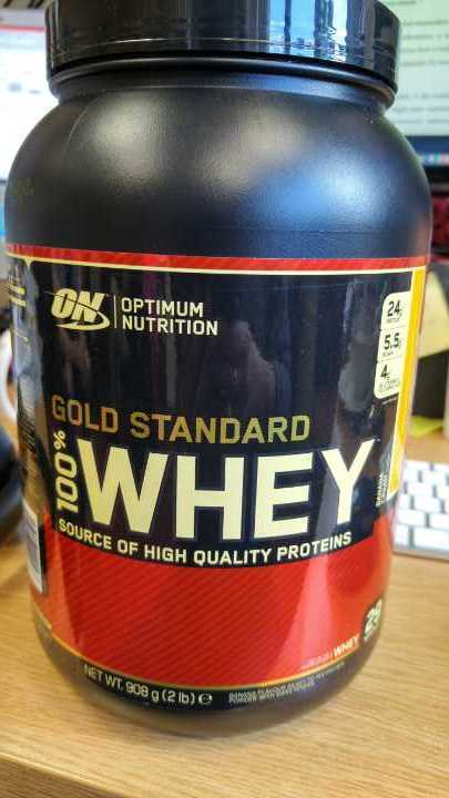 100% gold standard whey protein by optimum nutrition