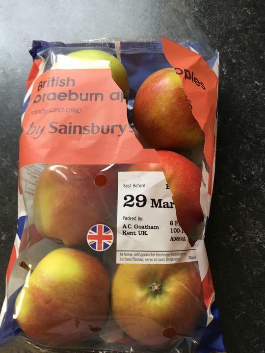 Apples x 6