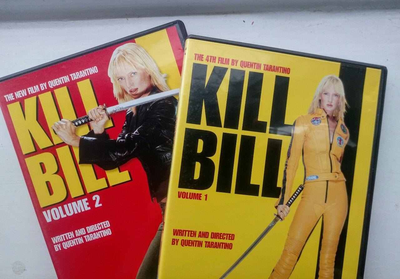 Kill Bill vol. 1 & 2.