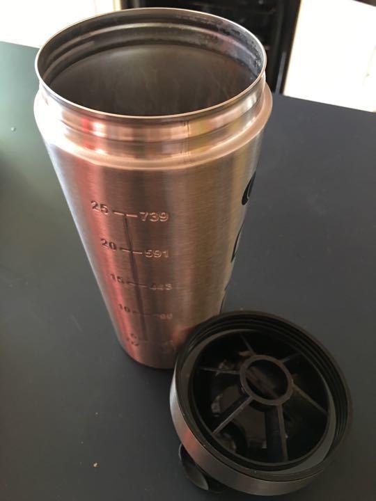 Protein powder shaker / flask