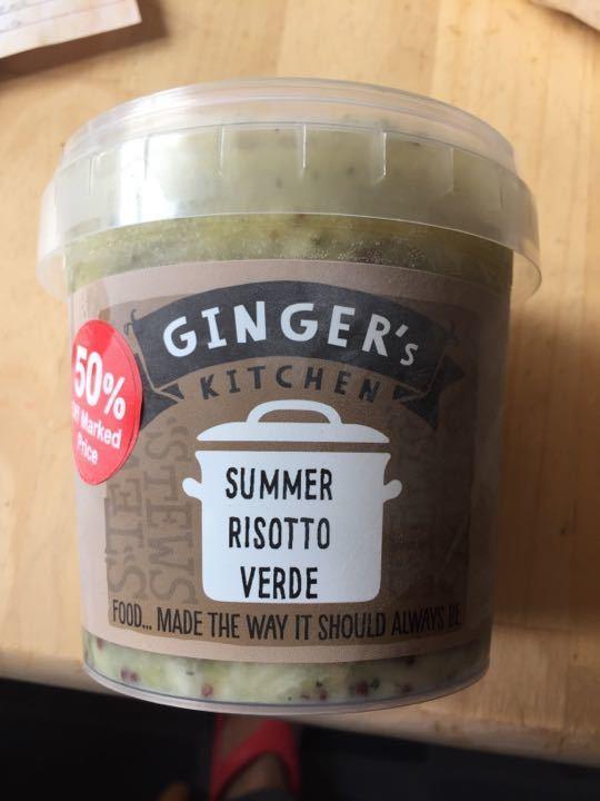 Summer risotto verde - frozen