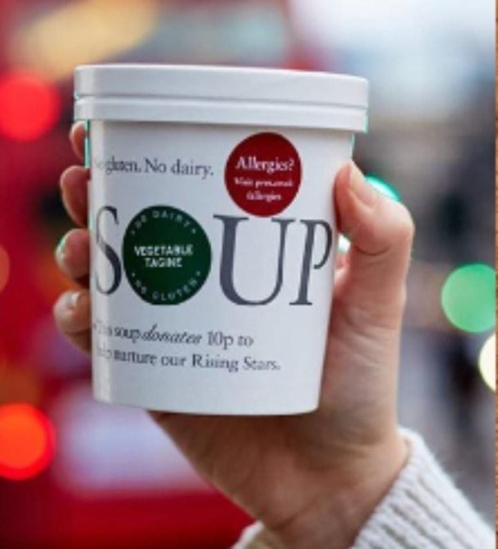 Pret hot food (soups)