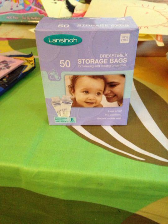 Lansinoh breast milk bags