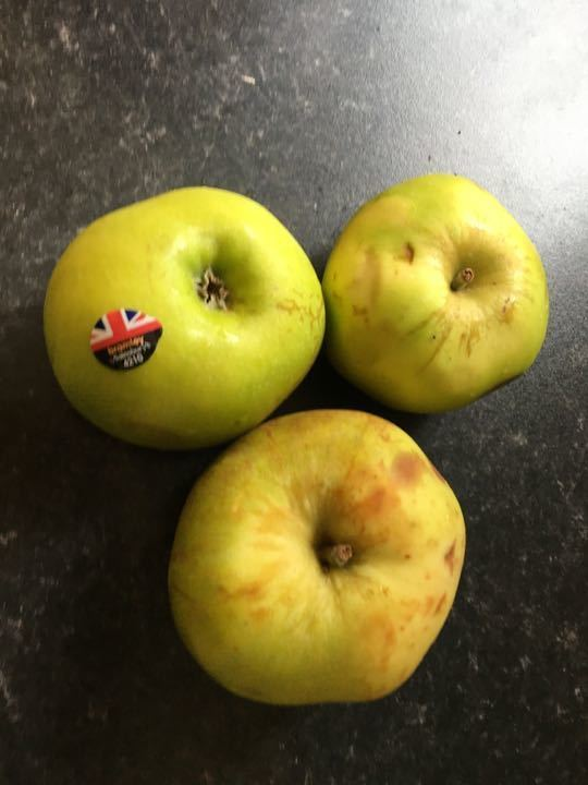 3 cooking apples