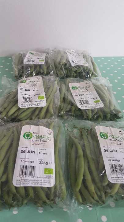 3 LEFT x14 Organic Green Beans