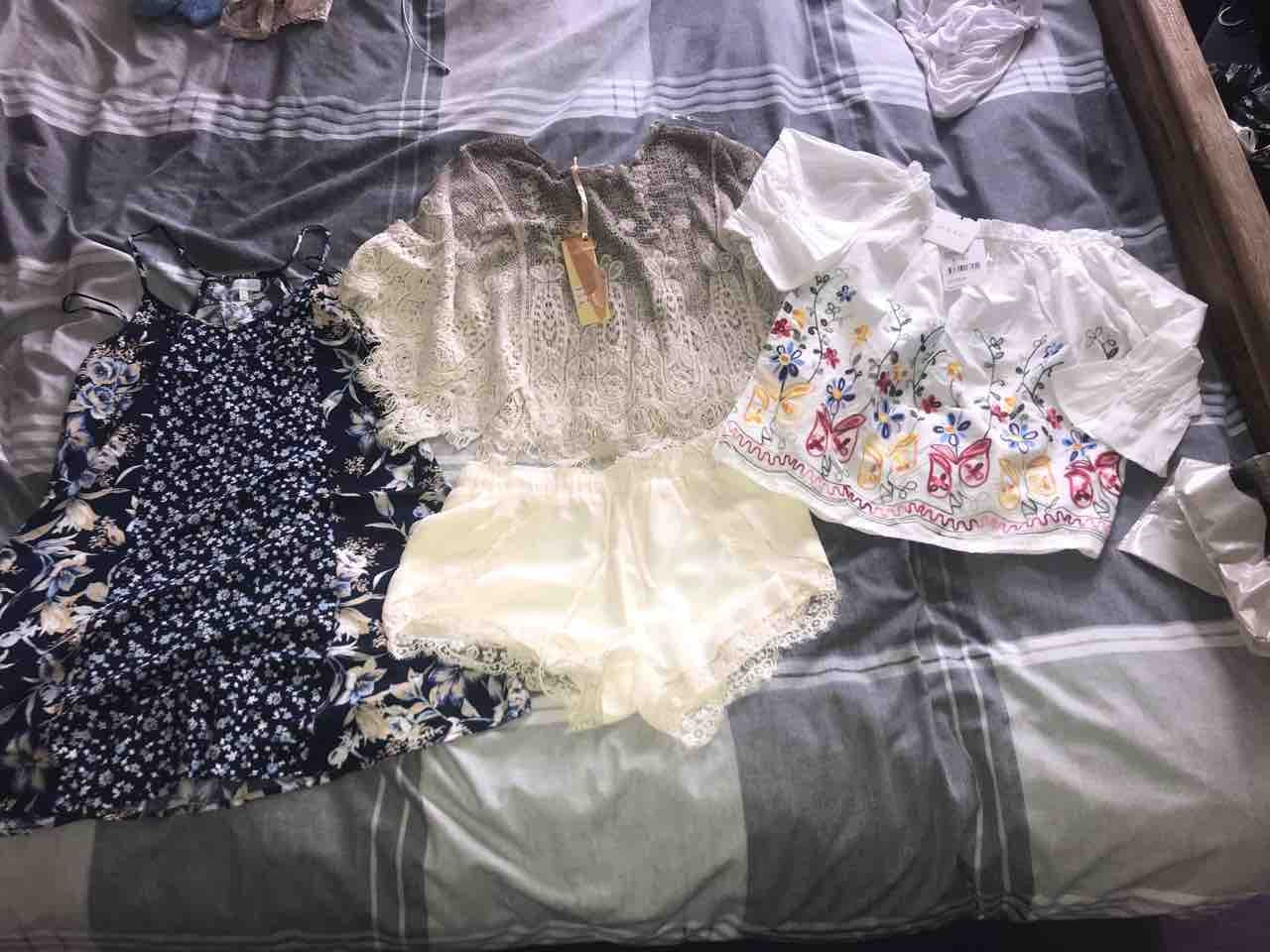 Bag of summer wear