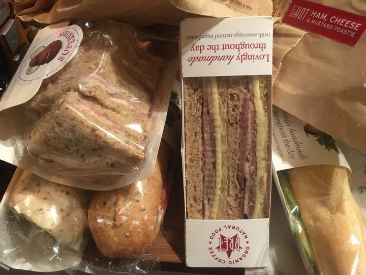 Sandwiches etc