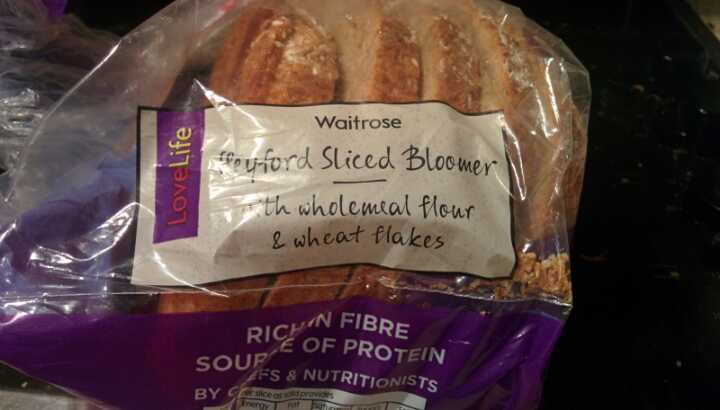 4 loaves wholemeal bloomer loaves and 2 farmers bloomer loaves