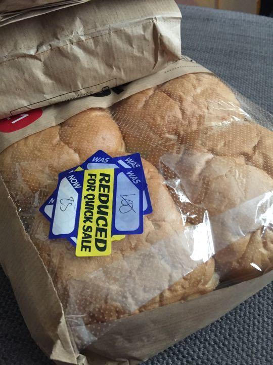 Coop bakery rolls