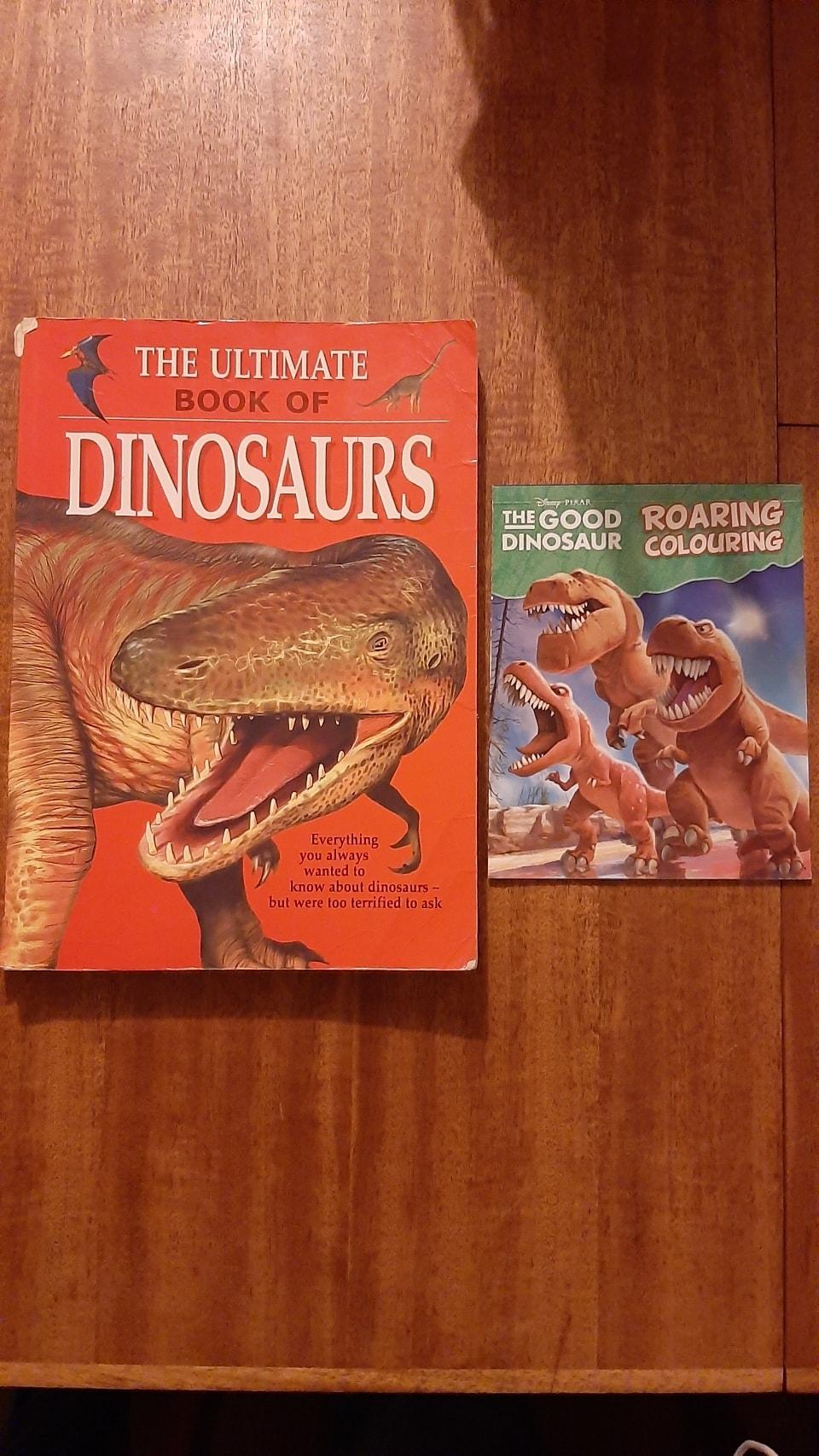 Dinosaur books 📚