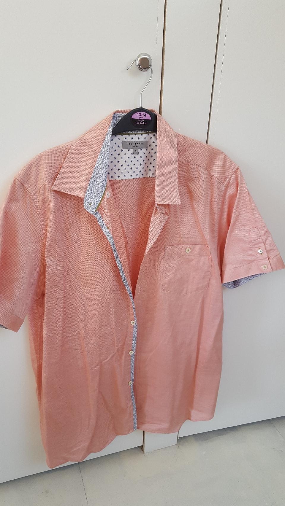 Man's Ted Baker shirt