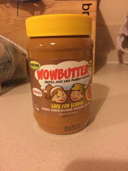 Nut free soy butter