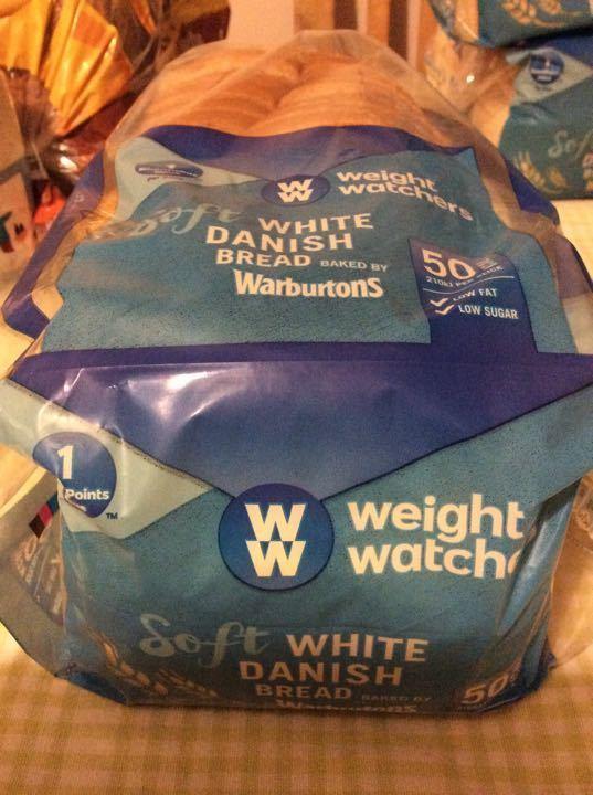 Weight Watches Danish bread