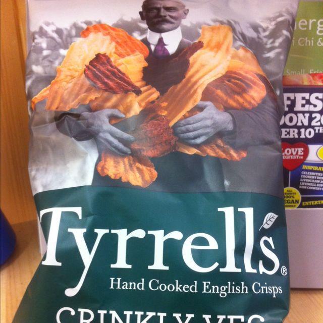 tyrrels crinckly veg crisps