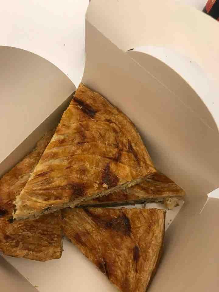 Pie cheese and potatoe