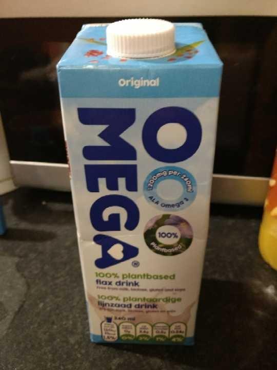 Ooo mega flax milk