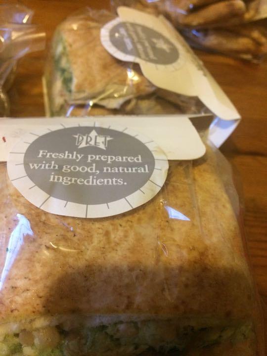 Pret flat breads