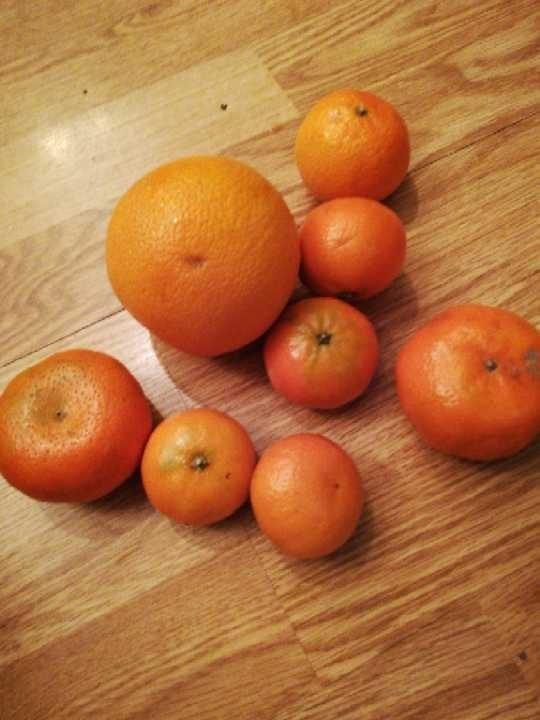 Bag loose oranges