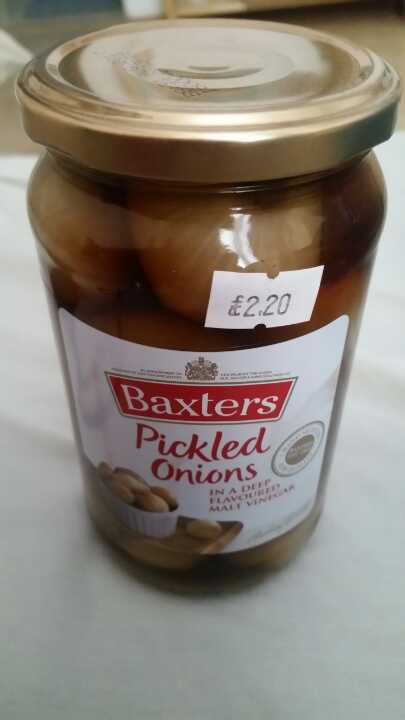 Pickled onions from Temple Stores