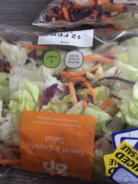 Coop fresh salad