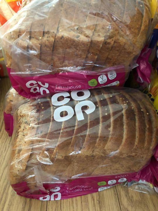 Farmhouse seeded bread