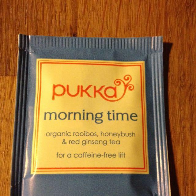 Pukka tea 'morning time' teabags
