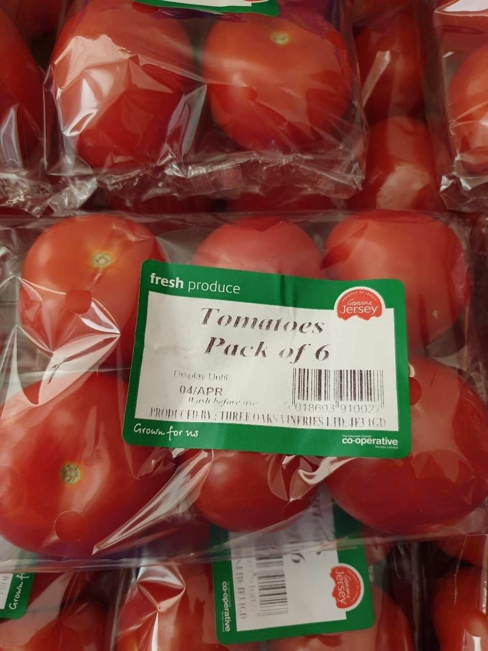Tomatoes, Pack of 6