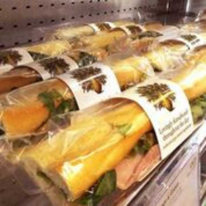 Variety of Pret A Manger Baguettes and Wraps
