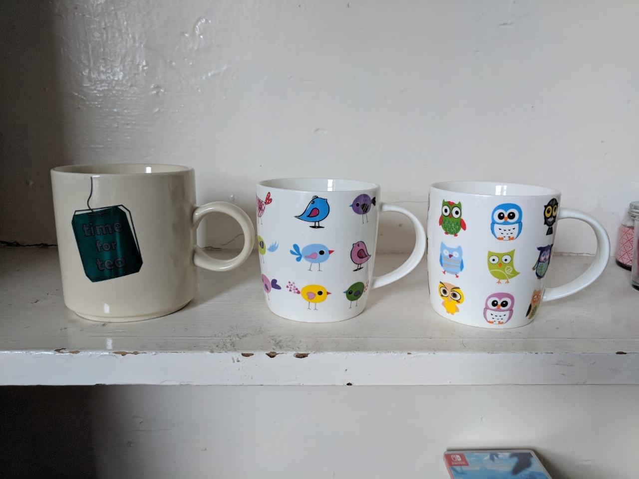 Time For Tea/Birds/Owls Mug
