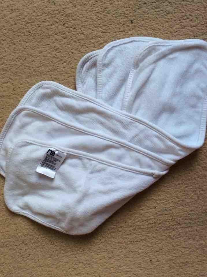 Mothercare shoulder cloths x3 (unused)