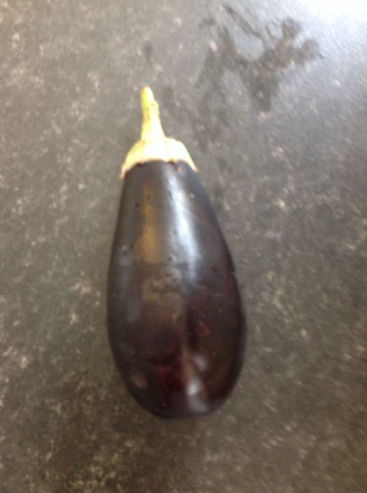 1 aubergine