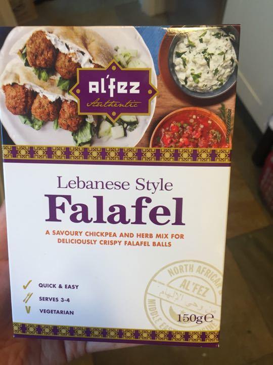 Unopened falafel mix
