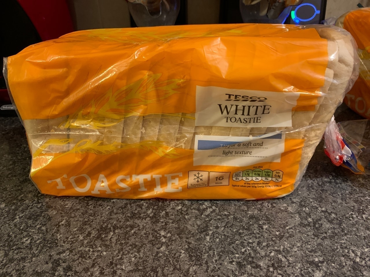 Toastie white bread