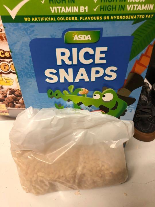 Rice snaps