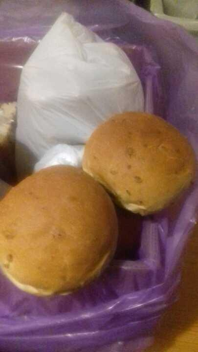 Soft fresh rolls