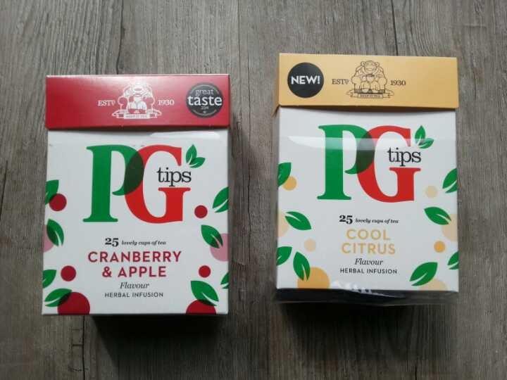 ~40 Tea bags Cool Citrus and Cranberry+Apple