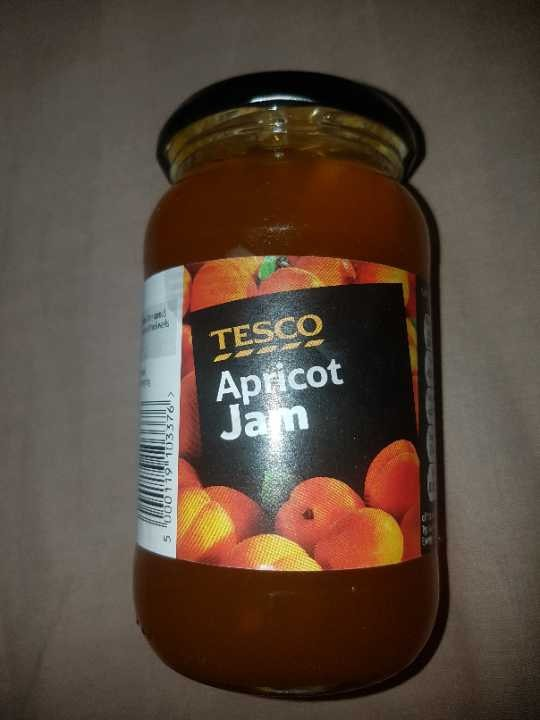 Tesco's apricot jam