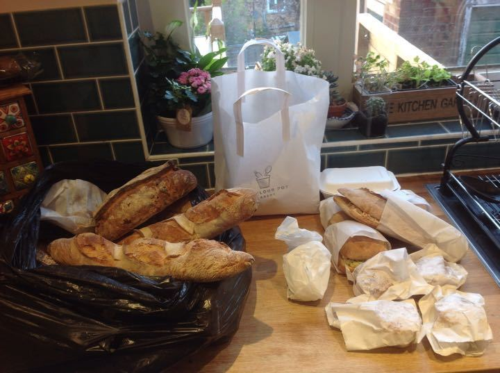 Bakery pick up bread, sandwiches, sausage rolls, cakes!