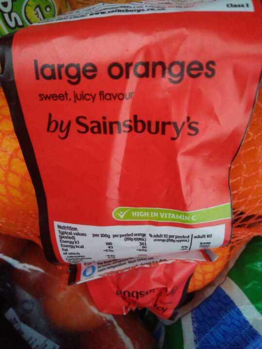 Large Oranges