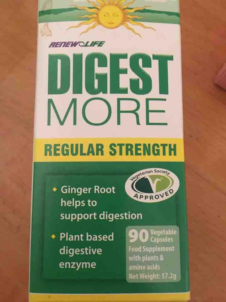 Ginger root digestion tablets