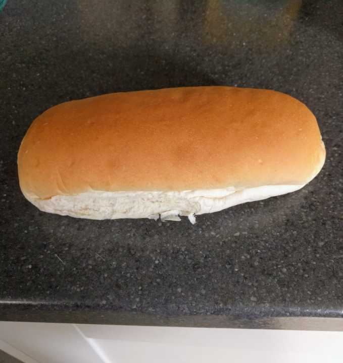 hot dog buns. Box unopened