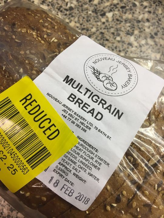 Multigrain sliced Polish bakery